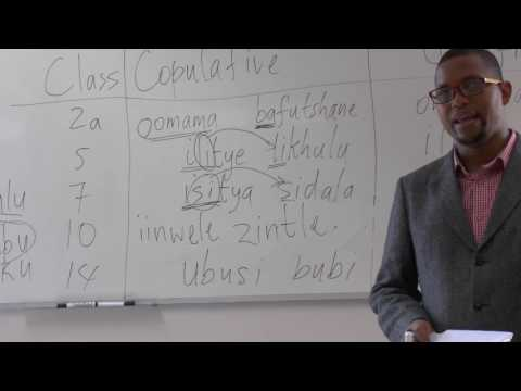 IsiXhosa 1 Second and Foreign Language (Adjectives Revision  strong nouns)_Rhodes University