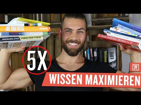 Wie du 5-mal mehr Wissen beim Lesen aufnimmst