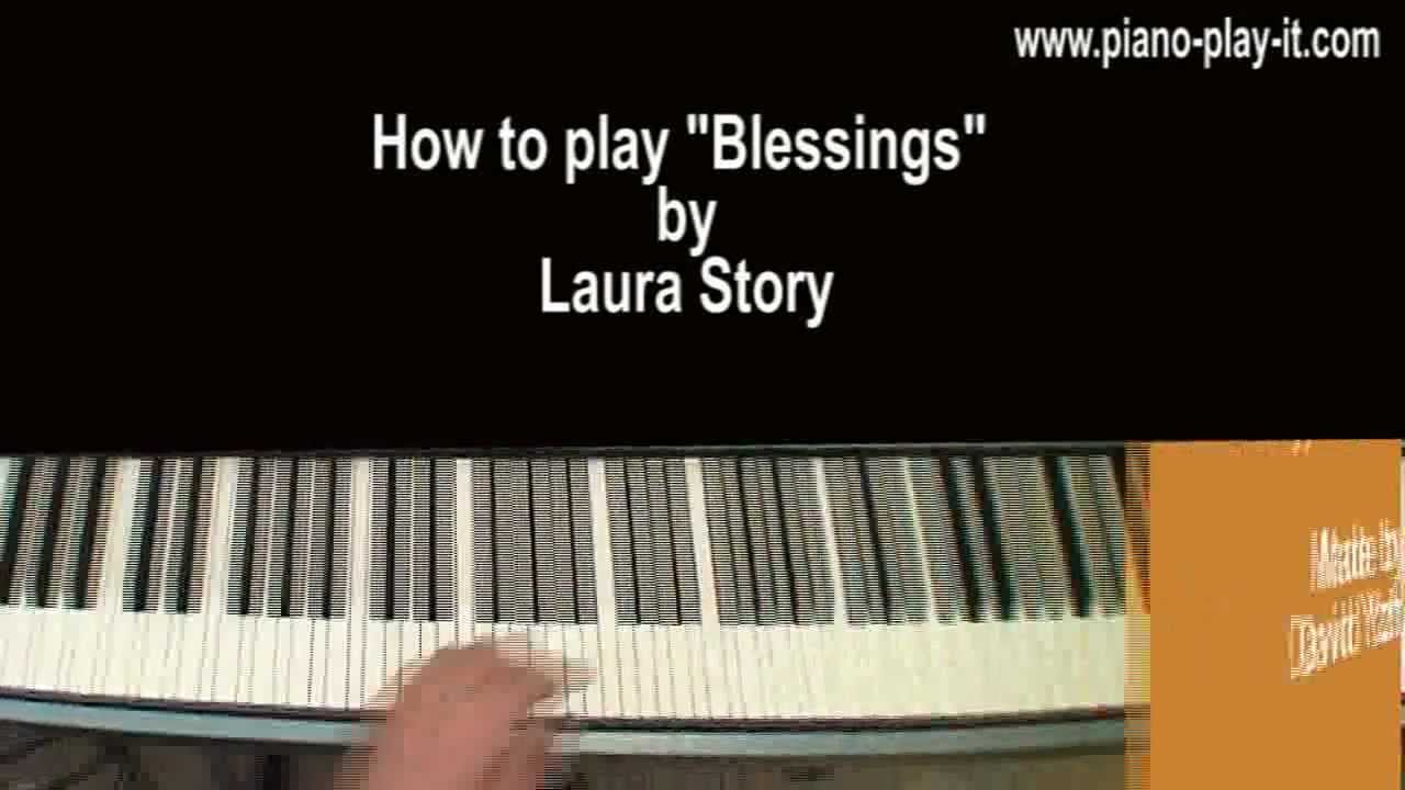 Blessings piano tutorial laura story youtube blessings piano tutorial laura story hexwebz Gallery