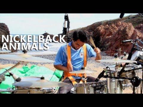 Animals Drum   Nickelback  Fede Rabaquino Outdoor Series