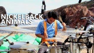"Animals Drum Cover - Nickelback - Fede Rabaquino ""Outdoor Series"""