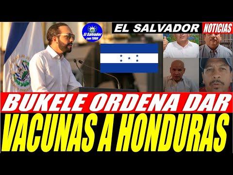 ULTIMA HORA: BUKELE ORDENA DAR VACUNAS A HONDURAS│DIÁSPORA DA APOYO TOTAL A BUKELE