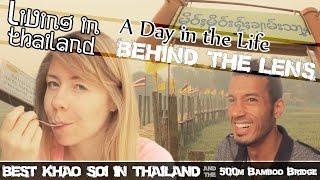 MAE HONG SON BEST KHAO SOI IN THAILAND- 500 METRE BAMBOO BRIDGE & Poison Coffee (ADITL BTL EP34)
