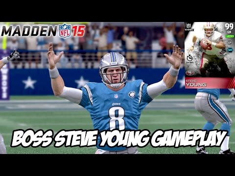 Madden 15 Ultimate Team Mode- Ep.64: Boss Steve Young Throws 5 TDs! NFL Championship!
