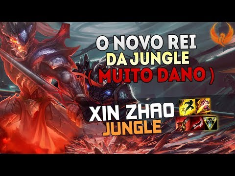 O NOVO REI DA JUNGLE *DANO INSANO* 🔥 - XIN ZHAO JUNGLE GAMEPLAY [PT-BR]