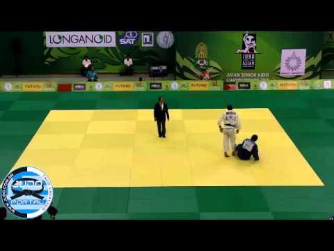 Asian Judo Championships, Bangkok 2013 Semifinal -100kg MAHJOUB Javad (IRI) - TOKTOGONOV Bolot (KGZ)