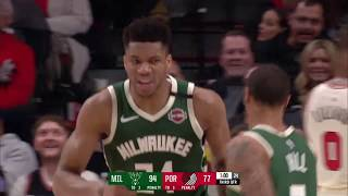 Portland Trailblazers vs Milwaukee Bucks | January 11, 2020