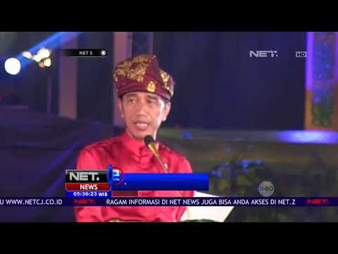 Presiden Jokowi Membuka MTQ Ke 27 Di Medan- NET 5
