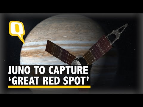 NASA's Juno Mission to Fly Over Jupiter's 'Great Red Spot' - The Quint