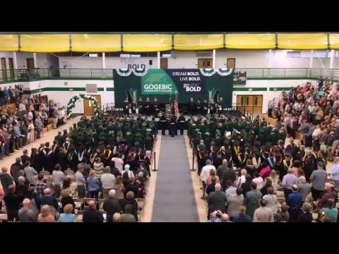 Gogebic Community College Graduation May 11, 2018