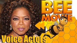 """Bee Movie"" Voice Actors and Characters"