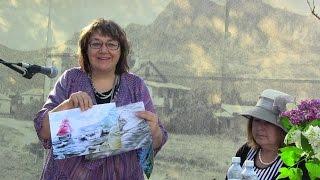 Наталья Баженова в Коктебеле о художниках фестиваля Образ Крыма.