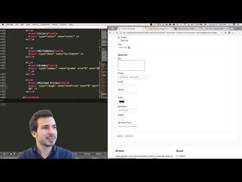 آموزش طراحی وب - قسمت پنجم - Web Development Course - Part 5 - HTML Form Elements