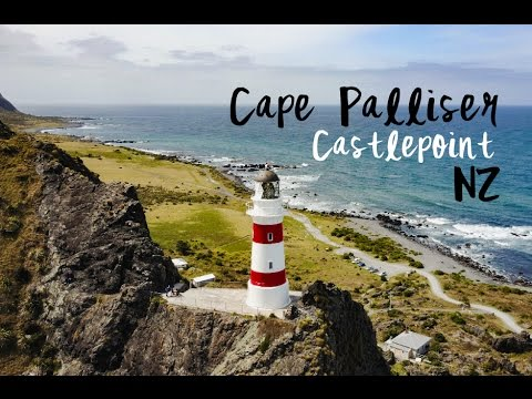 Coastal New Zealand (DJI) | Castlepoint x Putangirua Pinnacles x Cape Palliser