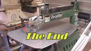 Excalibur Scrollsaw Review By Adrian Iredale