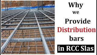 Why we use distribution bars in rcc slabs