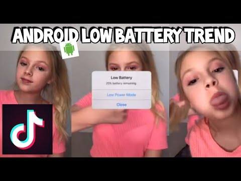 FREE Android Fake Battery Trend On TIKTOK