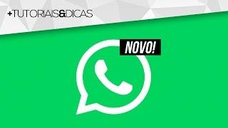 SAIU DO FORNO! WhatsApp ganha NOVA FUNÇÃO EXCLUSIVA e você já pode usar!