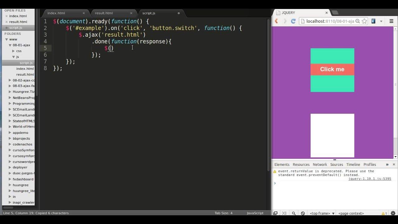 How to use ajax with jquery jquery tutorial youtube how to use ajax with jquery jquery tutorial baditri Choice Image