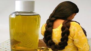 इस तेल को एक हफ्ते तक लगाइए और पाइए लम्बे मोटे और घने बाल    100% natural hair oil.