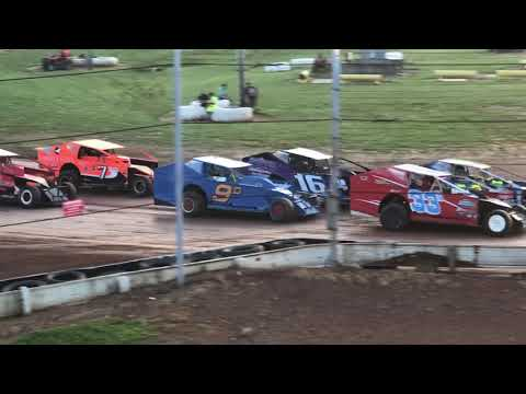 sharon speedway rush modified heats 1&2 6.29.19