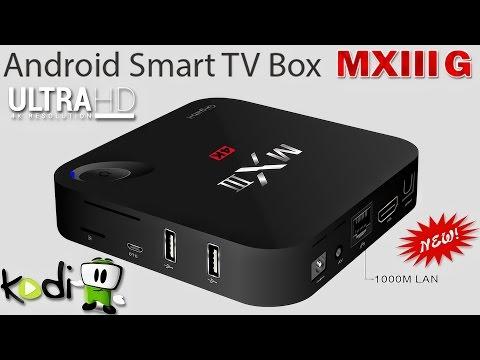 ANDROID TV BOX MXIII G : SMART TV приставка для ТЕЛЕВИЗОРОВ - ПОСЫЛКИ из КИТАЯ