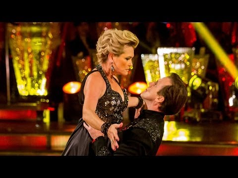 Fiona Fullerton & Anton Paso Doble to ' 2'  Strictly Come Dancing  BBC One