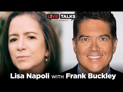 Lisa Napoli in conversation with Frank Buckley at Live Talks Los Angeles