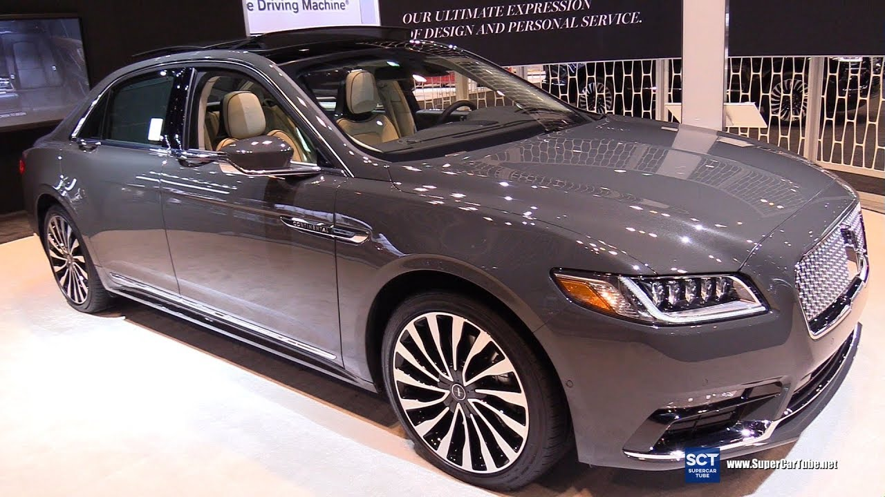 2018 Lincoln Continental Black Label Exterior And Interior