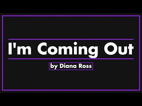 I'm Coming Out /Upside Down By Diana Ross (Chris Cox Remix Radio Edit)