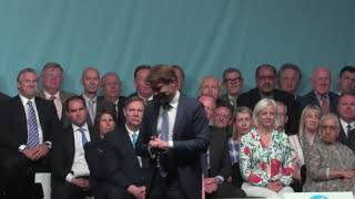 Richard Tice at THE BIG VISION RALLY Birmingham 30th June 2019
