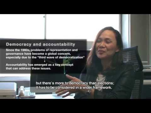 Making democracy work better through accountability research : Yuko Kasuya