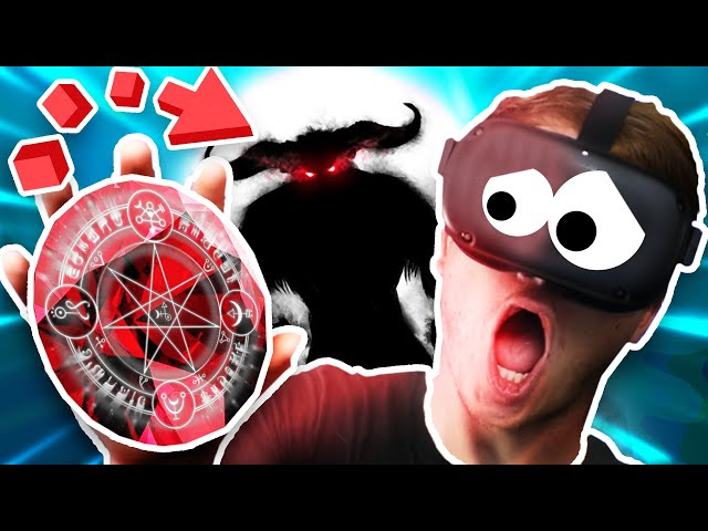 STEALING from THE SCARIEST DEMON EVER! BIG MISTAKE!!?! (In Death Unchained VR Oculus Quest)