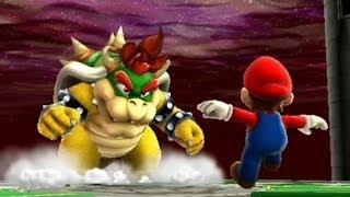 Super Mario Galaxy 100% Walkthrough - Part 17 Bigmouth Galaxy & Bowser's Dark Matter Plant
