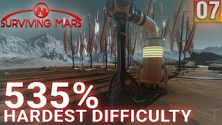 Surviving Mars 535% HARDEST DIFFICULTY - Part 07 - Heater Fail - Gameplay (1440p)