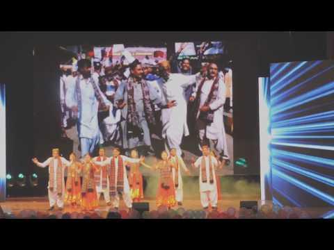 Pakistan Sindhi Culture Dance HZAU Wuhan, China Raza Sargani