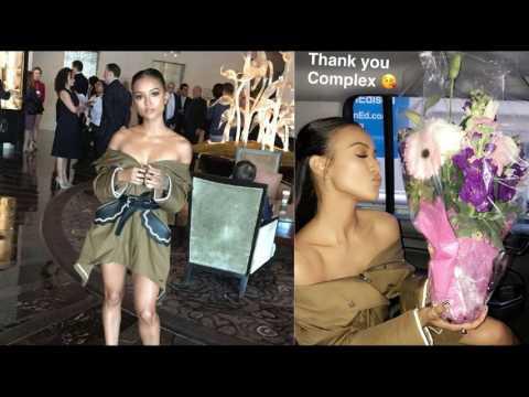 #Karrueche Tran turns 29! Hot 2 time Emmy Award winning actress still looks 19! #BlAsian bombshell! thumbnail