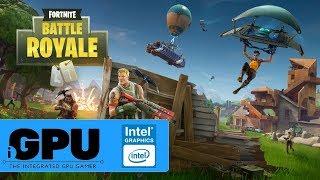 Fortnite Battle Royale on Intel HD Graphics | 4GB RAM | Will it iGPU?
