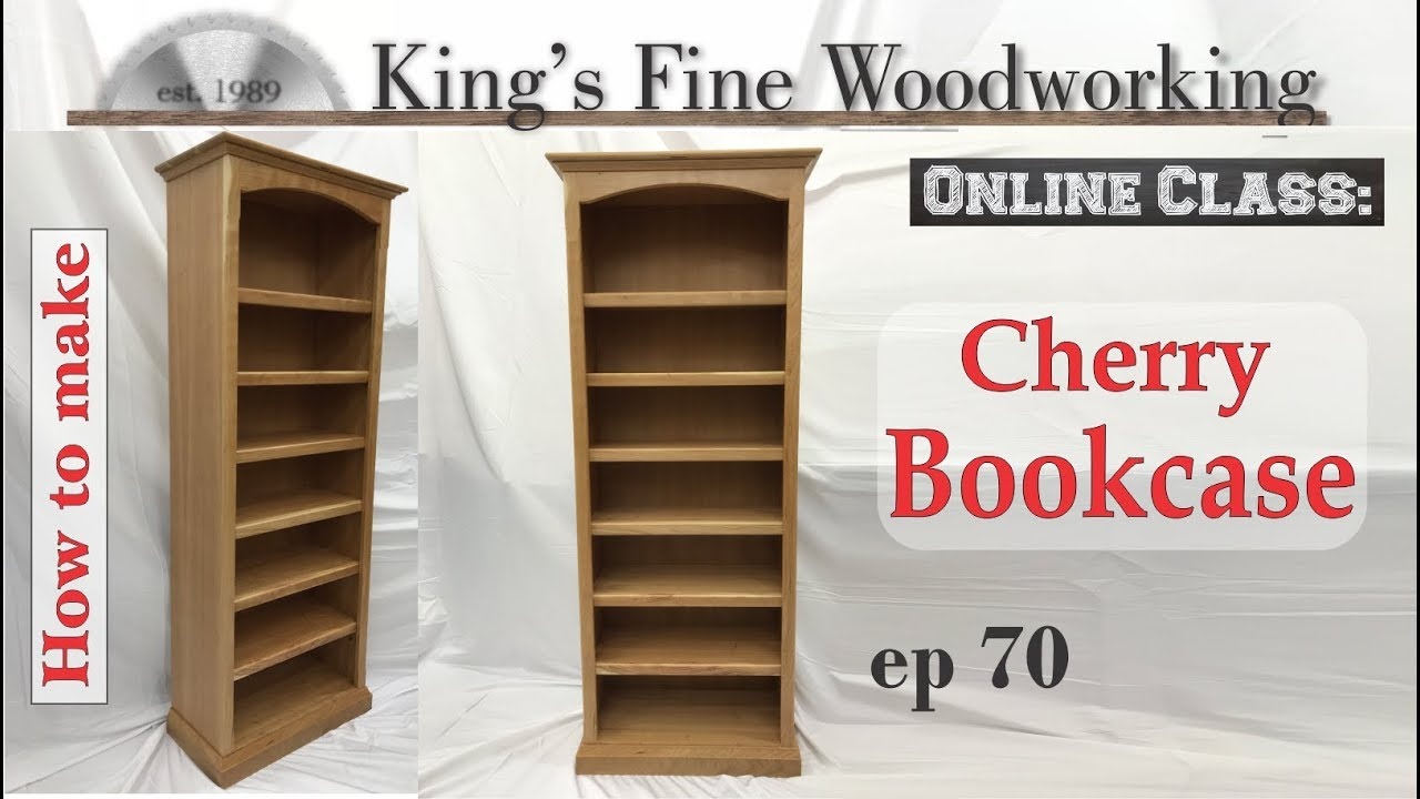 70 How To Build A 6 Ft Standard Cherry Bookcase 4k Youtube
