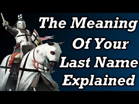 What Your Last Name Means