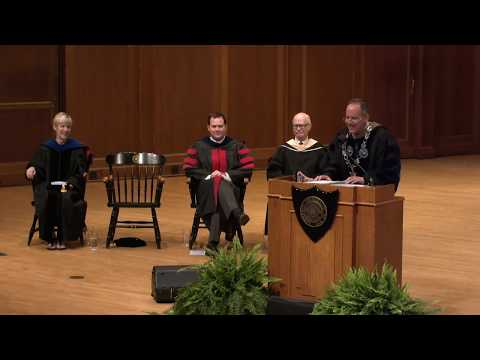Matriculation Convocation - Mark Burstein - What Do We Stand For - 09.14.17