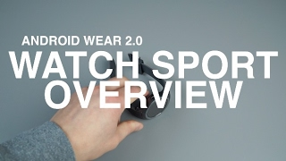Android Wear 2.0 Overview on LG Watch Sport