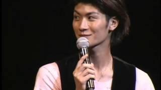 イベントで三浦春馬と佐藤健がCLUBファイのセリフを言い合う.