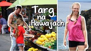 NOCNY TARG na HAWAJACH przy PLAŻY! // Jazda stopem  Tropikalne owoce  Taniec hula