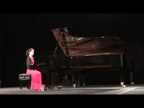 Chopin Scherzo No. 2 -- MTNA National Winner's Concert -- Yannie Tan, 2016, San Antonio