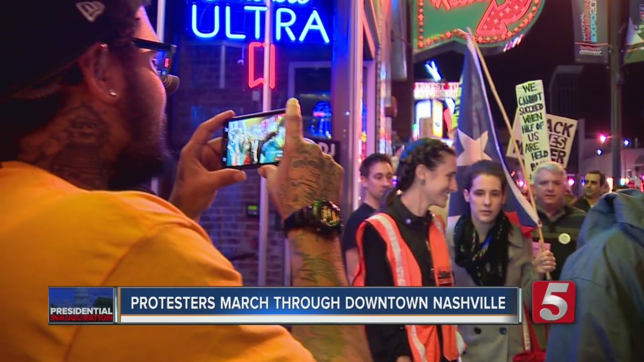 Protests in downtown Nashville: Arrests made for those out after ...