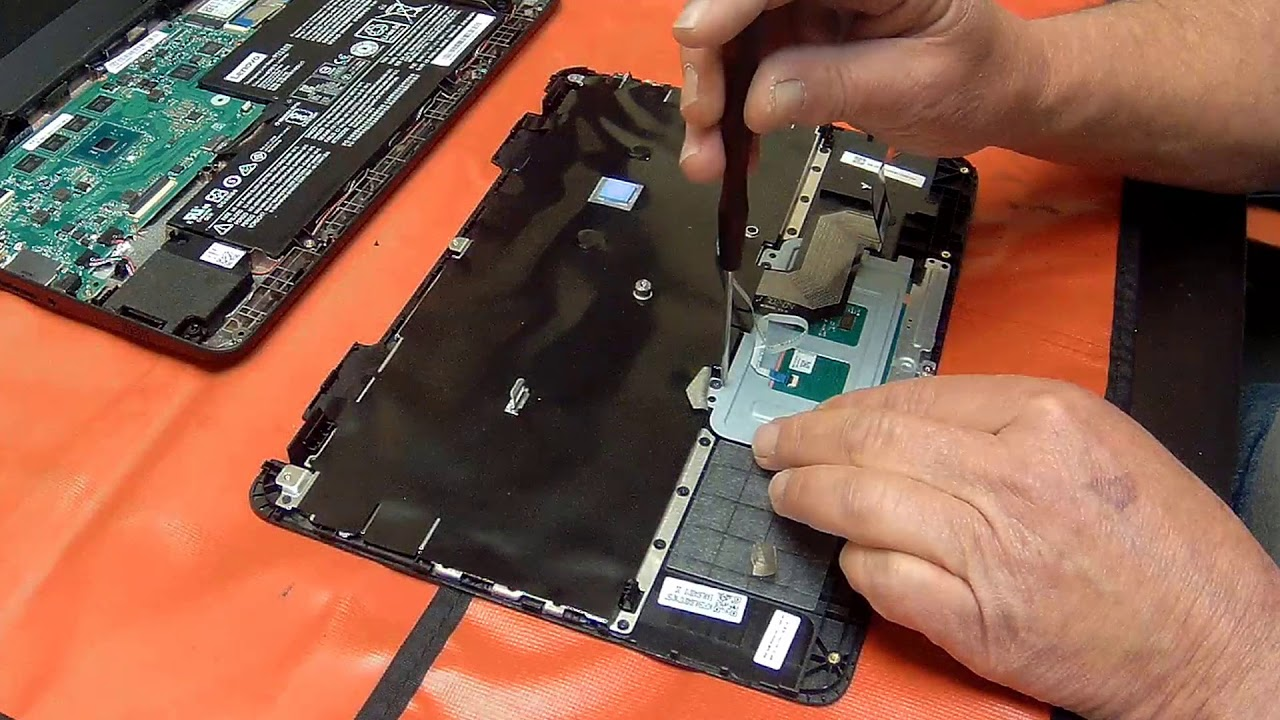 How to Replace the Lenovo Chromebook N21 N22 N23 Mouse Pad