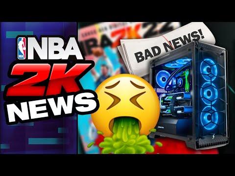 NBA 2K22 - Bad news for PC!