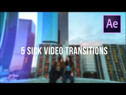 5 SICK Video Transitions (After Effects CC 2017)