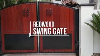 Security gate swinging Milf